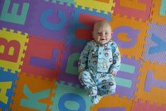 Babyjongen potrait Royalty-vrije Stock Foto's