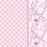 Babykarte Lizenzfreie Stockfotos