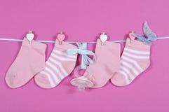 Babykindertagesstättensocken Stockbilder