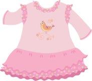Babykleid stock abbildung