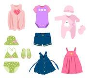 Babykleidung Lizenzfreies Stockfoto