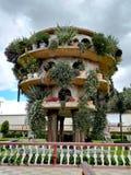Babylon ogródy w Parkowym Jaime Duque obrazy royalty free
