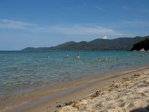 Babylon-Strand, Griechenland lizenzfreie stockbilder