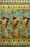 Babylonian Archers Stock Image
