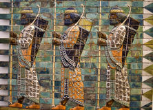 Babylonian Archers Stock Images