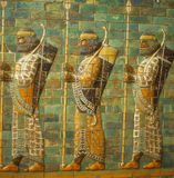 Babylonian archers, Royalty Free Stock Photography