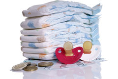 Babymateriaal Stock Foto's