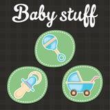 Babymateriaal royalty-vrije illustratie