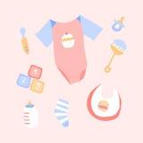 Babymaterial Lizenzfreies Stockbild