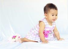 Babymeisje royalty-vrije stock foto's