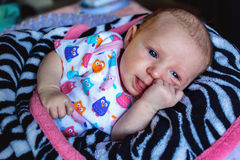 Babymeisje Stock Foto's