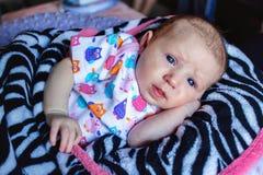 Babymeisje Stock Foto
