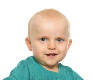 Babymeisje het glimlachen Stock Foto