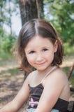 Babymeisje in openlucht Royalty-vrije Stock Foto's