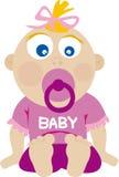 babyninavektor Arkivfoto