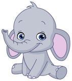 Babyolifant vector illustratie