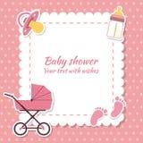 Babyparty gir Stockfotos
