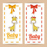 Babypartydesign Lizenzfreies Stockfoto