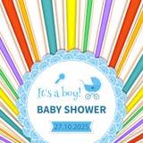 Babypartyregenbogen Lizenzfreie Stockbilder
