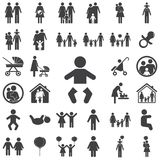 Babypictogram vector illustratie