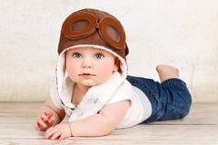 Babypilot Stockbild