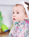 Babyporträt Stockfotografie