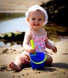 Babyportret stock afbeeldingen