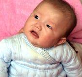 Babyportret Royalty-vrije Stock Afbeeldingen