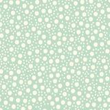 Babypret Hand Getrokken Dots Asymmetrical Seamless Pattern, Gestippelde Zwitser Stock Foto