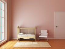 Babyruimte Stock Afbeelding