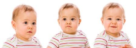 babys纵向 免版税库存照片