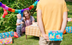 Babys birthday Stock Photography