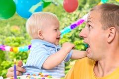 Babys birthday Stock Photography