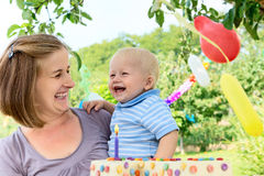 Babys birthday Stock Images