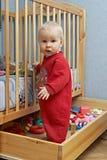 Babys en speelgoed Royalty-vrije Stock Afbeelding