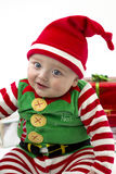 Babys First Christmas Stock Image