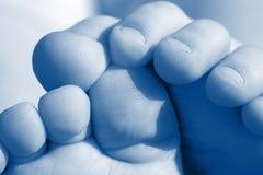 Babys foot Stock Photo