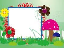 Babys photo frame Stock Images