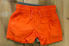 Babys shorts Royalty Free Stock Photo