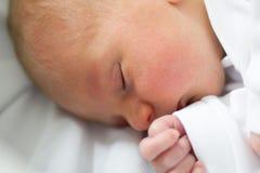 Babyschlaf Lizenzfreie Stockfotos