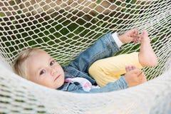 babyschommeling Stock Afbeeldingen