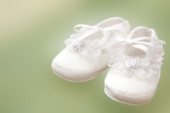Babyschuhe Stockbild