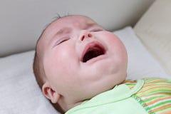 Babysitter che alimenta il bambino Fotografie Stock