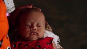 Babyslaap stock video