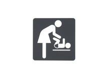 Babysorgfaltraum lizenzfreie stockfotografie
