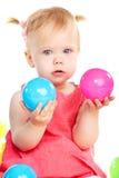 Babyspielen stockfotos