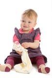 Babyspielen Stockbild