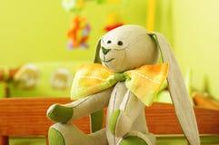 Babyspielwaren im Raumabschluß oben Lizenzfreie Stockfotografie