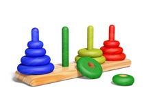 Babystuk speelgoed Royalty-vrije Stock Afbeeldingen