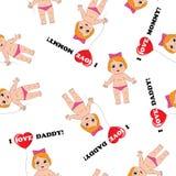 Babytextuur Royalty-vrije Stock Foto's